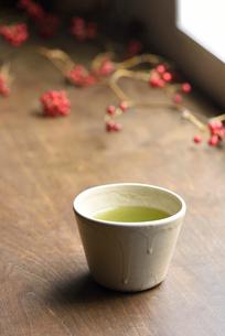 日本茶の写真素材 [FYI01610936]