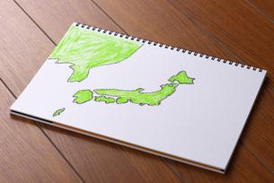 日本地図の写真素材 [FYI01611340]