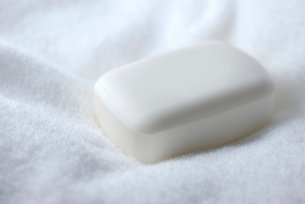 タオルと石鹸の写真素材 [FYI01611351]