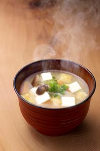 味噌汁の写真素材 [FYI01611391]