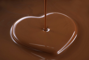 ハートのチョコレートの写真素材 [FYI01611533]
