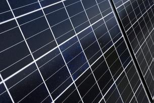 ソーラーパネルの写真素材 [FYI01611737]