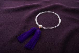 数珠の写真素材 [FYI01611872]