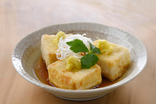 揚げ出し豆腐の写真素材 [FYI01612311]