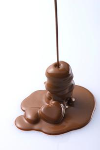 ハートのチョコレートの写真素材 [FYI01612521]
