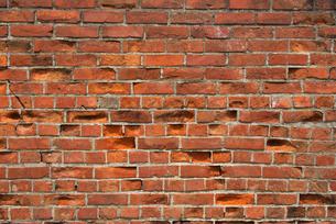 レンガ塀の写真素材 [FYI01612733]