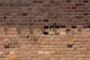 レンガ塀の写真素材 [FYI01612844]