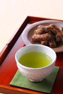 お茶カリントウの写真素材 [FYI01612997]