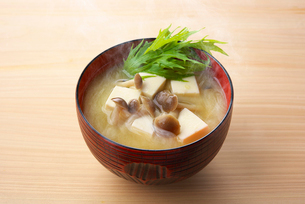 味噌汁の写真素材 [FYI01613120]