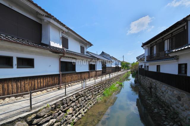 福岡県 吉井町の町並みの写真素材 [FYI01613332]