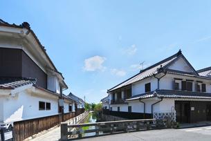 福岡県 吉井町の町並みの写真素材 [FYI01613407]