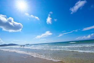 福岡県 野北海水浴場の写真素材 [FYI01613418]