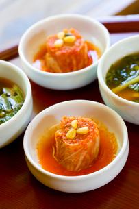 韓国の伝統料理のキムチの写真素材 [FYI01613755]