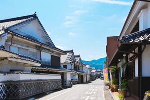福岡県 吉井町の町並みの写真素材 [FYI01614215]