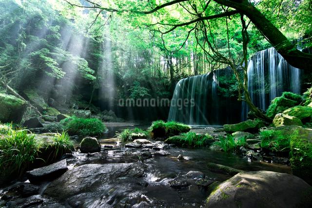 鍋ヶ滝の写真素材 [FYI01614278]