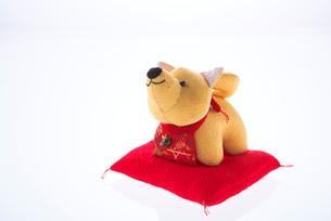 犬の置物の写真素材 [FYI01614283]