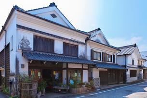 福岡県 吉井町の町並みの写真素材 [FYI01614489]