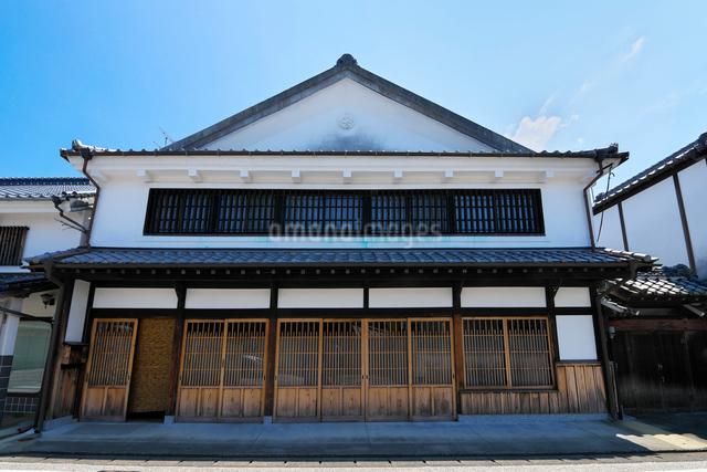 福岡県 吉井町の町並みの写真素材 [FYI01614588]