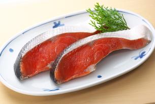塩紅鮭の写真素材 [FYI01614649]