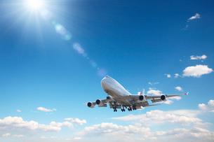 飛行機CGの写真素材 [FYI01614672]