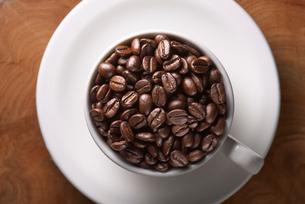 コーヒー豆の写真素材 [FYI01614874]