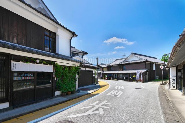 福岡県 吉井町の町並みの写真素材 [FYI01614904]
