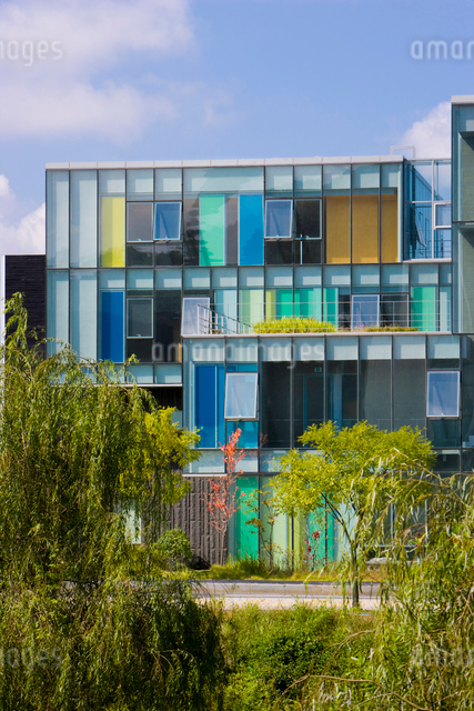 坡州ブックシティーの出版社の近代建物の写真素材 [FYI01615159]