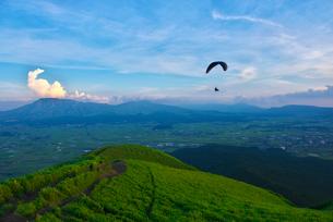 熊本県 阿蘇大観峰の写真素材 [FYI01615312]