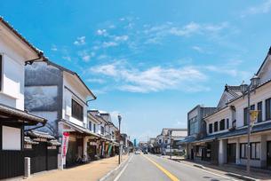 福岡県 吉井町の町並みの写真素材 [FYI01615468]