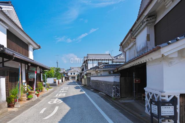 福岡県 吉井町の町並みの写真素材 [FYI01615504]
