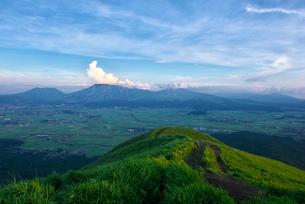 熊本県 阿蘇大観峰の写真素材 [FYI01615526]