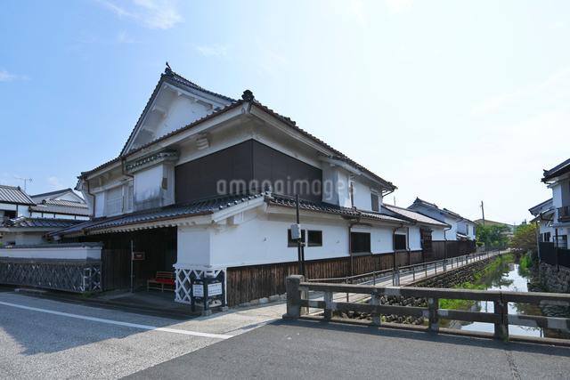 福岡県 吉井町の町並みの写真素材 [FYI01615527]