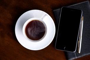 コーヒータイムの写真素材 [FYI01615611]