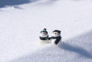 雪だるまの写真素材 [FYI01615633]