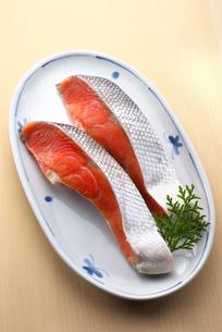 塩紅鮭の写真素材 [FYI01615677]