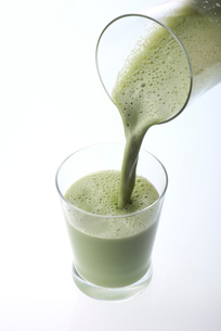 抹茶豆乳の写真素材 [FYI01615901]