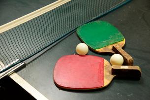 温泉宿の卓球台の写真素材 [FYI01615969]