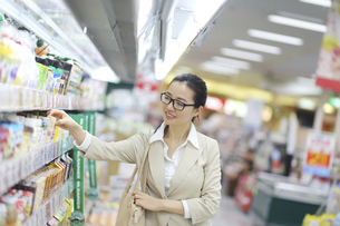 スーパーマーケットの写真素材 [FYI01616415]