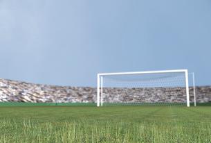 サッカー場のイラスト素材 [FYI01617705]