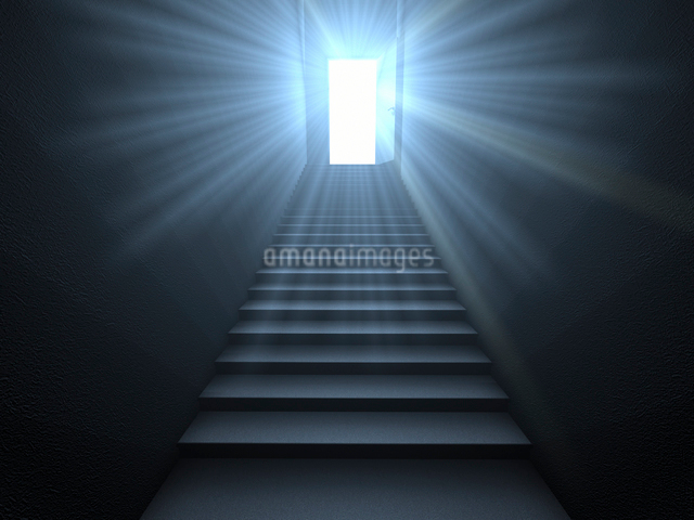ドアから差す光のイラスト素材 [FYI01617711]