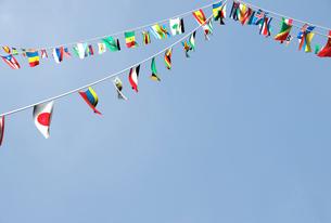 万国旗のイラスト素材 [FYI01617825]