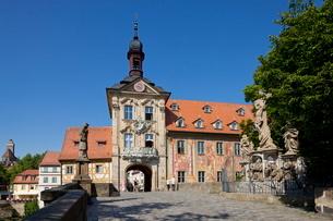 バンベルクの旧市庁舎の写真素材 [FYI01618191]