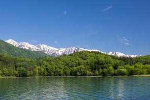 青木湖の写真素材 [FYI01619017]