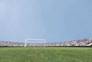 サッカー場のイラスト素材 [FYI01619333]