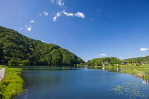 中綱湖の写真素材 [FYI01619395]