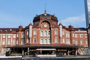 東京駅丸の内駅舎の写真素材 [FYI01619490]