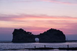 円月島の写真素材 [FYI01619508]