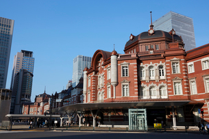 東京駅丸の内駅舎の写真素材 [FYI01619587]