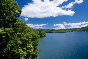 青木湖の写真素材 [FYI01619734]