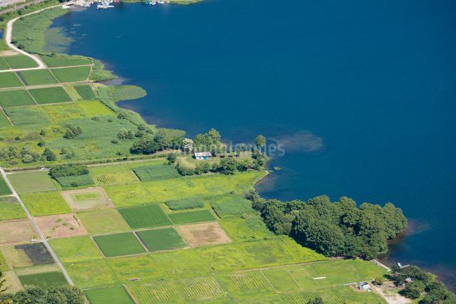木崎湖の写真素材 [FYI01619904]